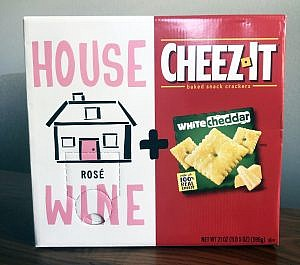 House Wine and Cheez-It